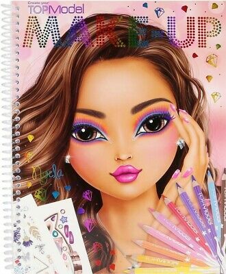 NEW Top Model - Make Up Colouring Book from Mr Toys