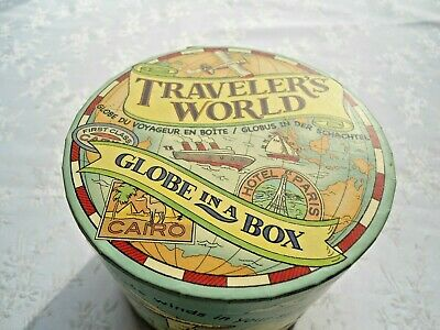 Traveler's world - Globe in a box, pre owned - VGC