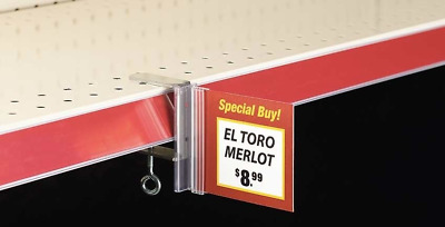 Aisle Invader Sign Holder with C-Clamp