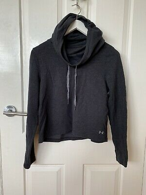 Under Armour Black Hoodie With Cowl-Neck