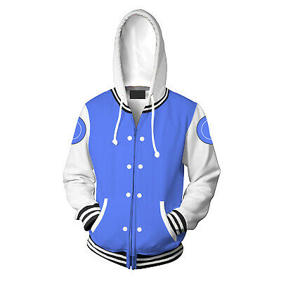 Newest RiverCity Girls hoodie Sweatshirt Cosplay Costume Zip up coat jacket