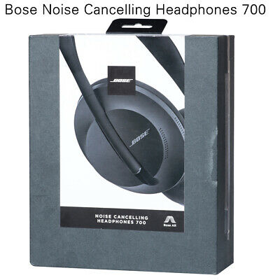Bose Wireless Noise Cancelling Headphones 700 Black white AR Bluetooth