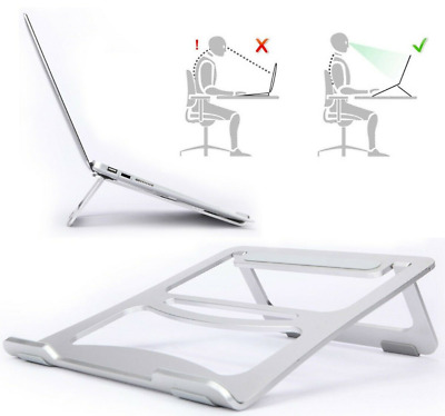 Laptop Table Stand Desk Bed Computer Study Foldable Portable Sofa Tray Riser AL