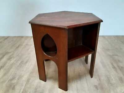 An Oak Arts & Crafts combined coffee table & book table