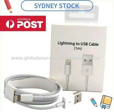 High Quality Apple Lightning Charger Cable iPad iPhone 11 X 8 7 6 5