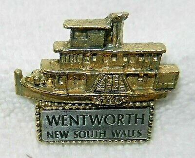 Wentworth Paddle Steamer (Nsw) Badge