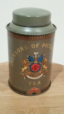 Jacksons of Piccadilly tea tin