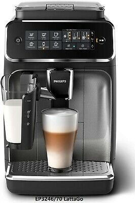 Philips EP3246/70 Super Automatic LatteGo Coffee Machine Integrated Milk Carafe