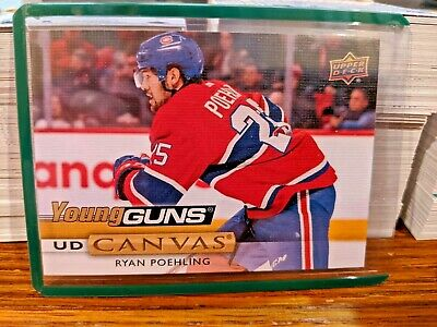 2019-20 UD Canvas YOUNG GUNS Series 2, RYAN POEHLING #C226