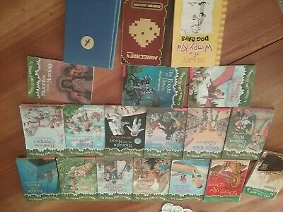 Lot Of Magic Tree House Books By Mary Pope Osborne plus 2 Bonus Books!