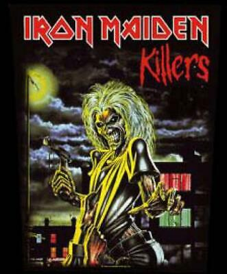 M112 Shield Patch Iron Maiden Killers 7,5 8 CM