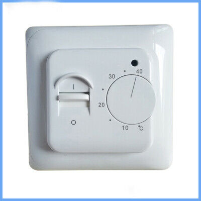 Electric Floor Heating Room Thermostat Manual Warm Floor Cable Use Termostat