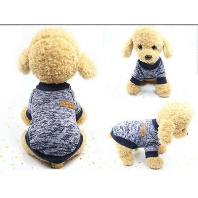 Pet Clothes Soft Thickening Warm Pup Knitwear Dog Sweater H1PS