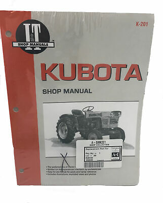 A&I Products Kubota Shop Manual - A-SMK201