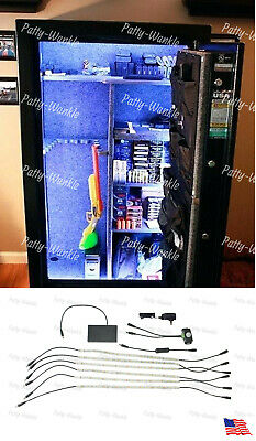 Gun Safe LED Light,12-26 wide safe liberty,cannon and more battery auto on//off