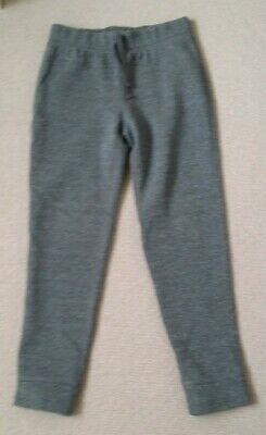 GAPkids GIRL'S Grey Sparkly Joggers 8 YRS 132-140 cms EXCELLENT CONDITION