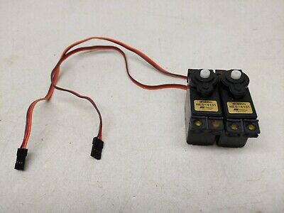 Pair of JR NES-4131 Ultra Precision Standard Size Servo for RC Airplane JRPS821