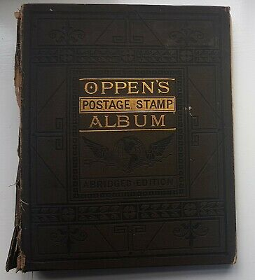 WORLD Collection in 1887 STAMP ALBUM