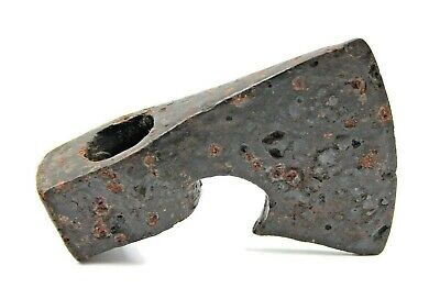 Ancient Rare Authentic Viking Kievan Rus Medieval Iron Battle Axe 12-14th AD