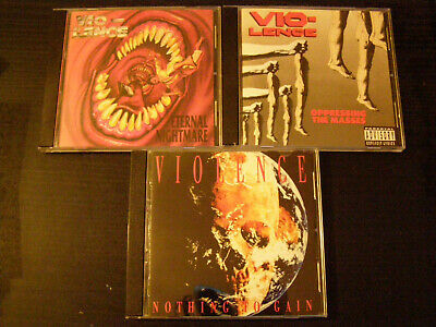 3CD VIO-LENCE Eternal Nightmare / Opressing The Masses / Nothing To Gain / TOXIK