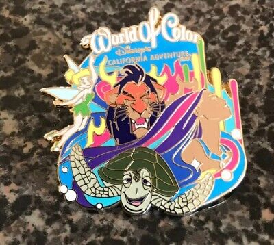 Disney World of Color California Adventures Inc DLR Travel Co Trading Pin Scar