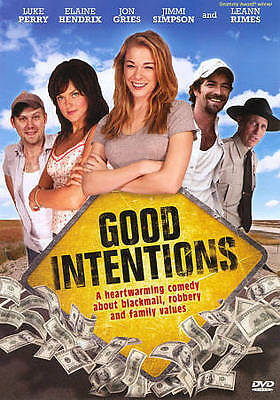 Good Intentions (DVD, 2010) Brand New - Factory Sealed Luke Perry/Leann Rimes