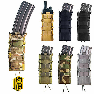 HSGI High Speed Gear Tactical MOLLE or Belt 40mm Round Double Triple TACO Pouch