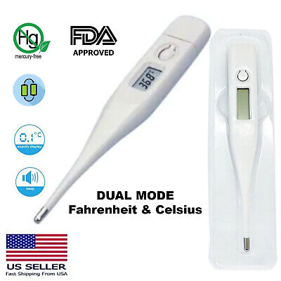 Oral Thermometer For Baby Kid Adult Health Medical Fever FDA Approved Digital