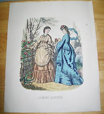 La Mode Illustree #1 Victorian Ladies Print