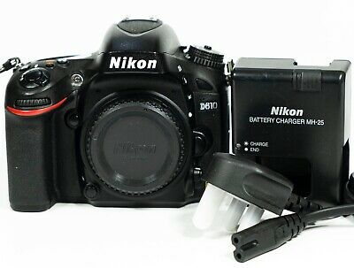 Nikon D610 24.3MP Full Frame Digital SLR Camera Body - Shutter Count 41,606