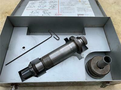 """Ridgid 918 8""""-12"""" Drive Shaft & 2"""" - 6"""" Roller For Hydraulic Roll Groover"""