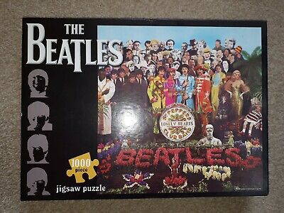 The Beatles Sgt Peppers Lonely Hearts Club Band 1000 piece jigsaw puzzle