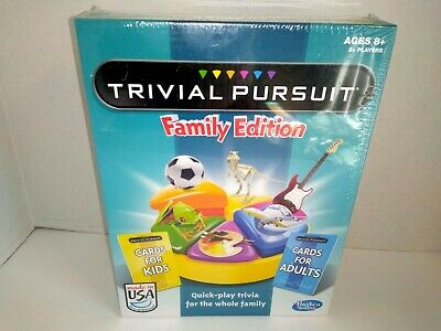 Hasbro Trivial Pursuit Family Edition Game (Brand New Factory Sealed)