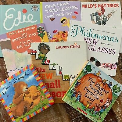 Story Time Assorted Bundle / Lot of 8 StoryBooks for Kids Toddlers Daycare