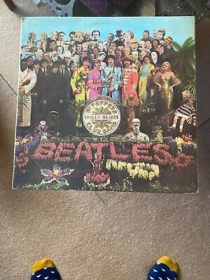 The Beatles Sgt Peppers Lonley Hearts Club Band UK 1967 EMI