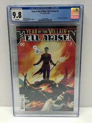 Year of the Villain Hell Arisen #3 (2020) CGC 9.8 1st App Punchline FIRST PRINT!