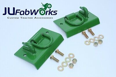 John Deere Compact Tractor Bolt on Grab Hooks, D Rings. 1025R 2032R 3320 2520