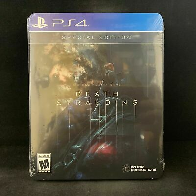New! Factory Sealed! Death Stranding Special Edition Playstation 4 Ps4 Sold Out!