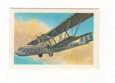 Australia Aviation Card. Handley Page HP42 - 1930