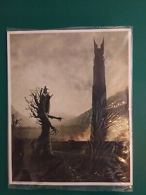 SEALED LORD OF THE RINGS 8x10 ART PRINT LOOTCRATE EXCLUSIVE