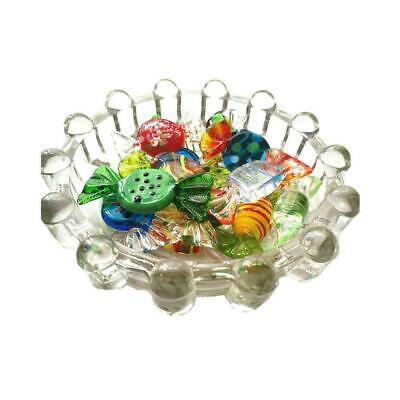 Vintage Murano Glass Sweets Wedding Party Candy Christmas Decorations N4H4