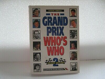 The Grand Prix - Who's Who 2nd Edition --- (Steve Small)