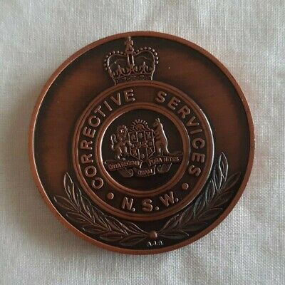 (NSW Corrective Services- 1788-1988)-D0-MEDAL