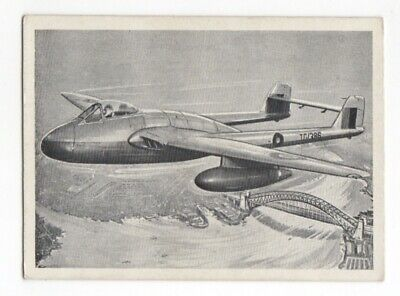 Wonders of the Air Comic Cards. RAF De Havilland Vampire