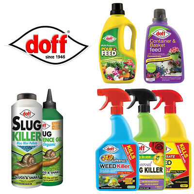 Fast Acing Doff Garden Care Products , Slug Defence, Weedkillers & Pour Feeds