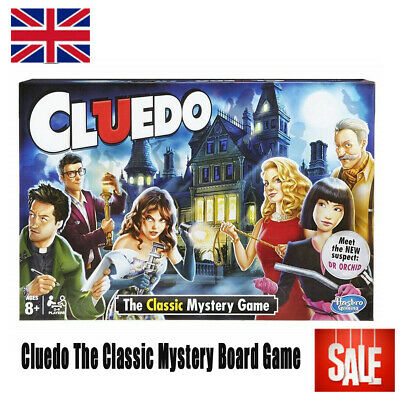 New Cluedo The Classic Mystery Board Game Perfect Family Game Hot Sale Fift 2020