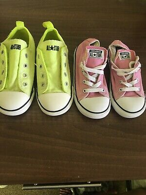 converse all star Junior Size 10 (2pairs)