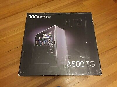 Thermaltake ATX A500 TG Aluminum Tempered Glass Edition RRP $369