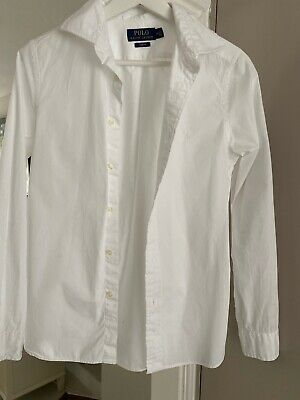 Polo Ralph Lauren Boys Age 16 White Shirt