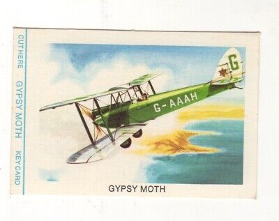 Tip Top Bread - Great Sunblest Air Race Cards #02. Gypsy Moth